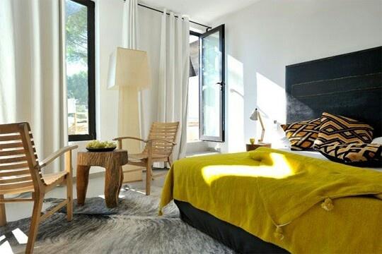 Inspiration chambre adulte jaune - Inspiration chambre adulte ...