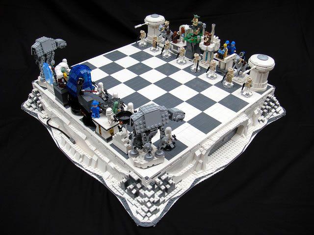 Des échiquiers Lego StarWars  (9)