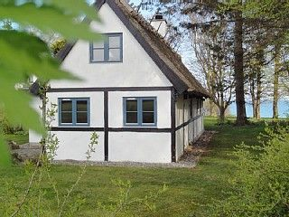 Stege Straw covered half-timbered house with an ideal location by the Baltic Sea