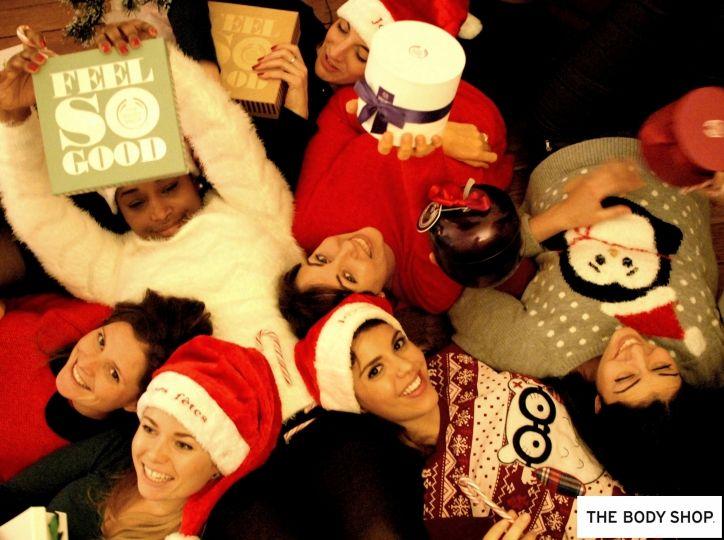 We #Feelsogood avec le Moment #NoëlMagique #TheBodyShop ! Cette photo (de Tsuko) a été choisie par la marque :)