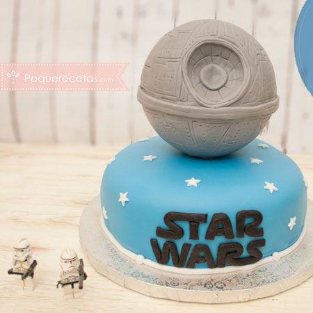 Tarta fondant: Star Wars