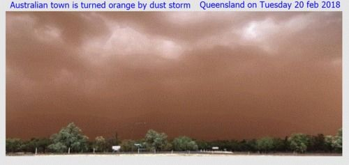 Australian+town+has+been+hit+by+a+dust+storm+:+Australian+town+has+been+hit+by+a+dust+storm+that+covered+the+outback+community+in+orange+dust+so+the+storm+was+so+powerful+swept+through+the+outback+and+caused+damage+to+homes+and+trees.+|+tonyone