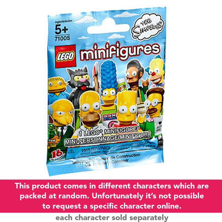 LEGO The Simpsons Minifigures - Assorted | ToysRUs Australia