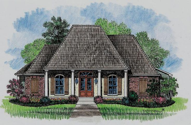 Acadian style house plans acadian style house plan for Acadian cottage house plans
