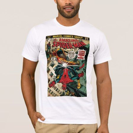 The Amazing Spider-Man Comic #123 T-Shirt - click/tap to personalize and buy