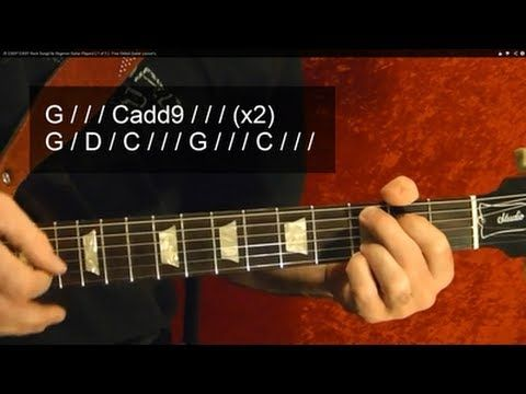 25 EASY EASY Rock Songs for Beginner Guitar Players! ( 1 of 3 ) - Free O...