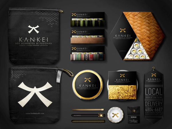 Kankei by Combo Brand Agency lovely #sushi #packaging PD