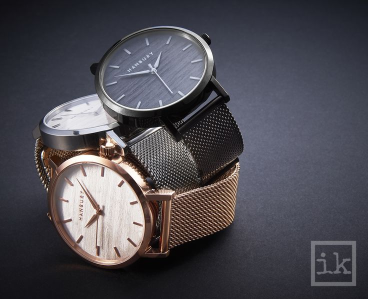 Triple watch stack | product photographer Ian Knaggs