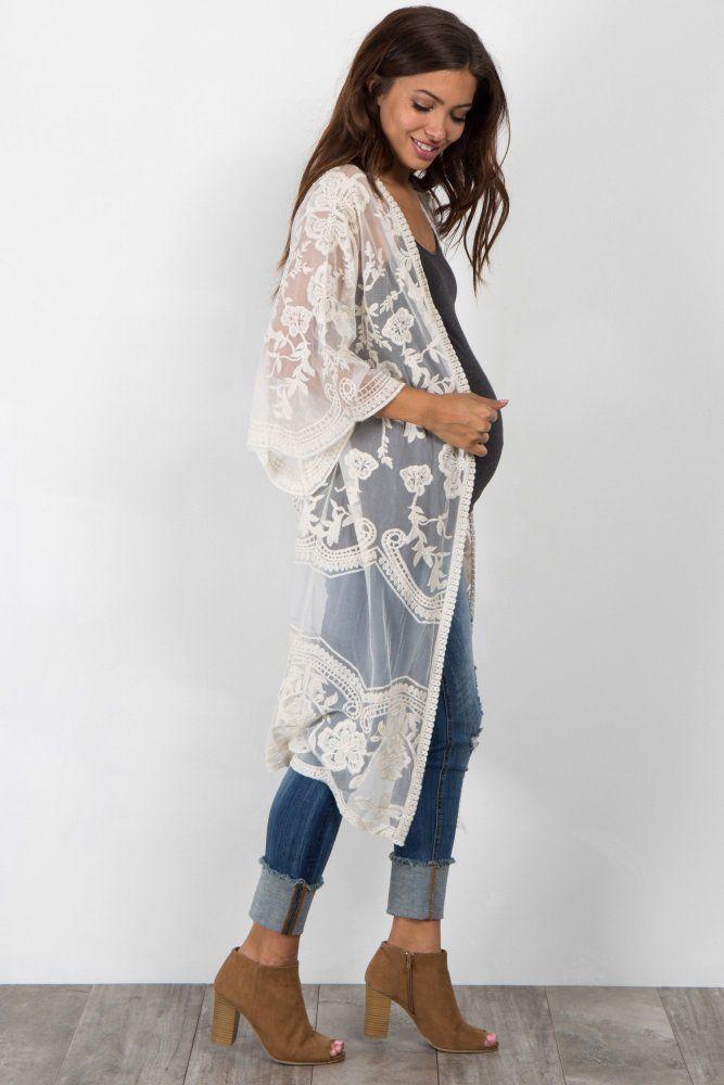 Perfect for the upcoming season, this boho chic pregnancy kimono makes it all …   – Strut like u own it <3