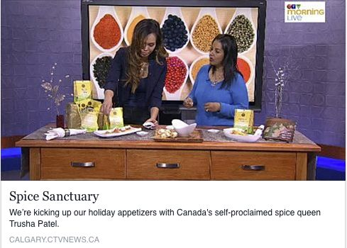 Living a Life of Spices: CTV Calgary