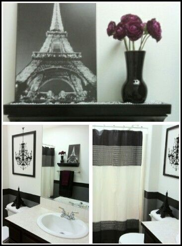 17 best ideas about paris theme bathroom on pinterest - French themed bathroom accessories ...