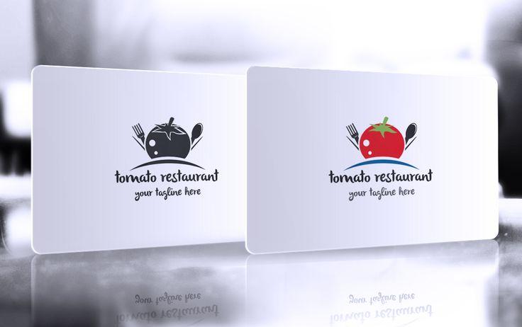Tomato Restaurant Logo by GladicMonster on @creativemarket