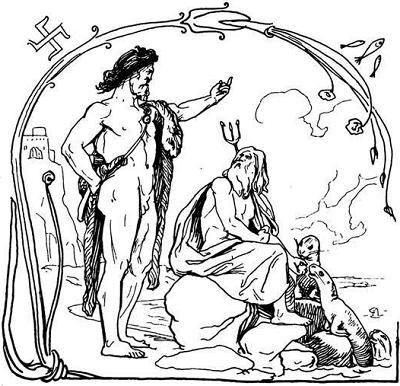 ÞÓRR E JǪRMUNGANĐR. Il calderone ai confini del cielo