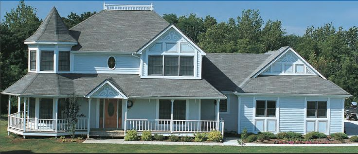 The Outside View Of The 84 Lumber Country Manor Home