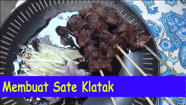 Cara Membuat Sate Klatak-Resep Praktis-Dapur Syifa #trending #memasak #c...