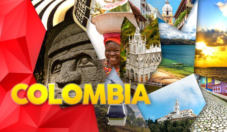 Se você quer saber se há um país onde você pode ver desertos, montanhas, florestas tropicais e o oceano em uma só viagem? Podemos dizer que este pais existe e é a Colômbia. #Colombia #Férias #Hoteis #Marriott #Destinos
