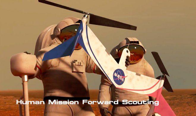 NASA разрабатывает летающие дроны для изучения Марса – Stellar dreams