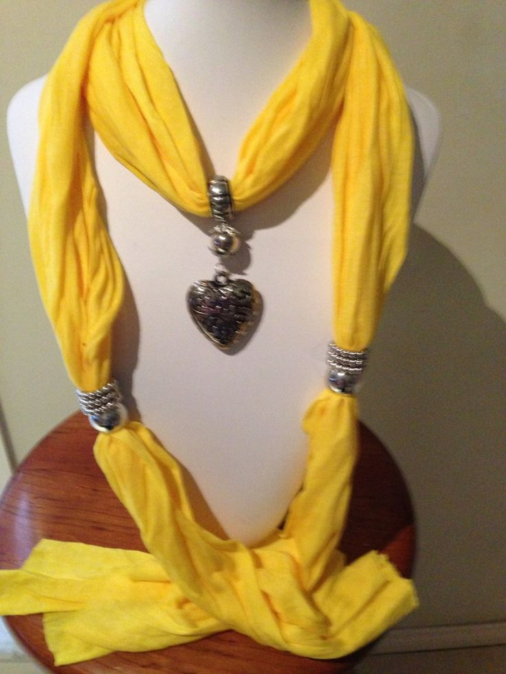 I'm selling Yellow pendant scarf - A$25.00 #onselz