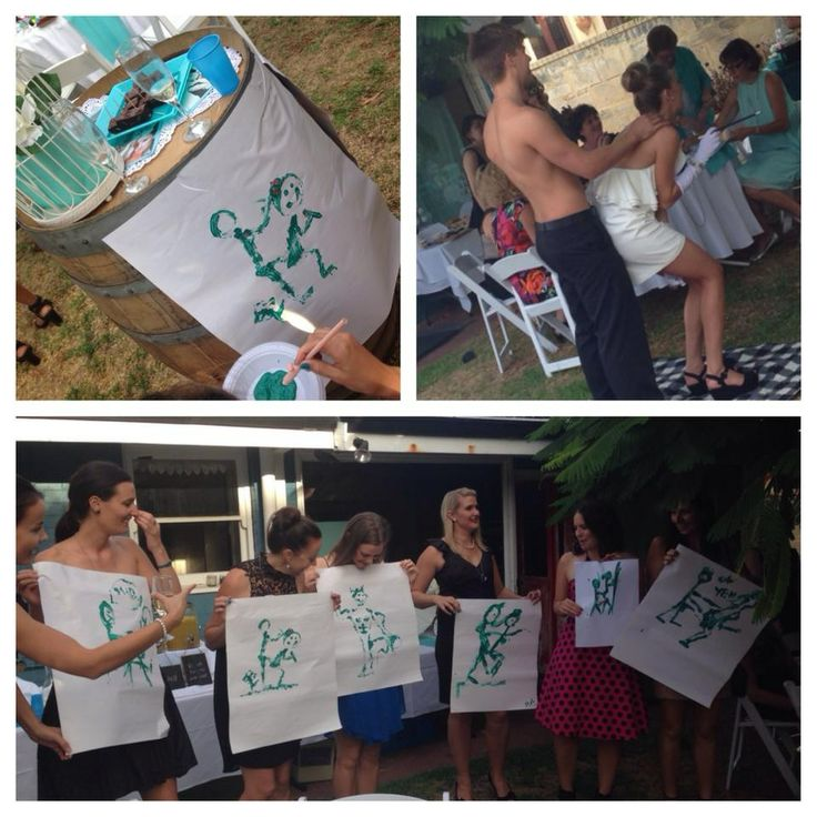 Breakfast @ Tiffany's Themed Hen's Party - Hens Games - Life Drawing