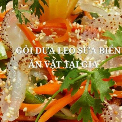 Gỏi dưa leo sứa biển 75k/1phan