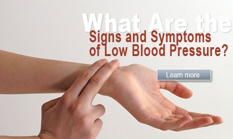 causes of fainting | What Are the Signs and Symptoms of Low Blood Pressure?