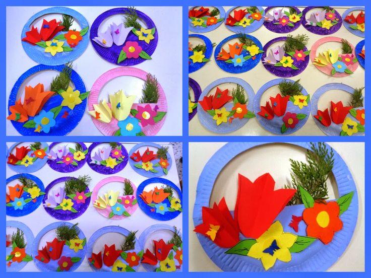 5o - 7o ΝΗΠΙΑΓΩΓΕΙΑ ΤΥΡΝΑΒΟΥ: Μια λουλουδάτη ανάρτηση.....