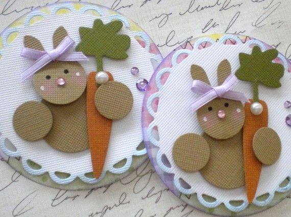 Hey, I found this really awesome Etsy listing at https://www.etsy.com/listing/62242530/set-of-2-easter-embellishments-easter