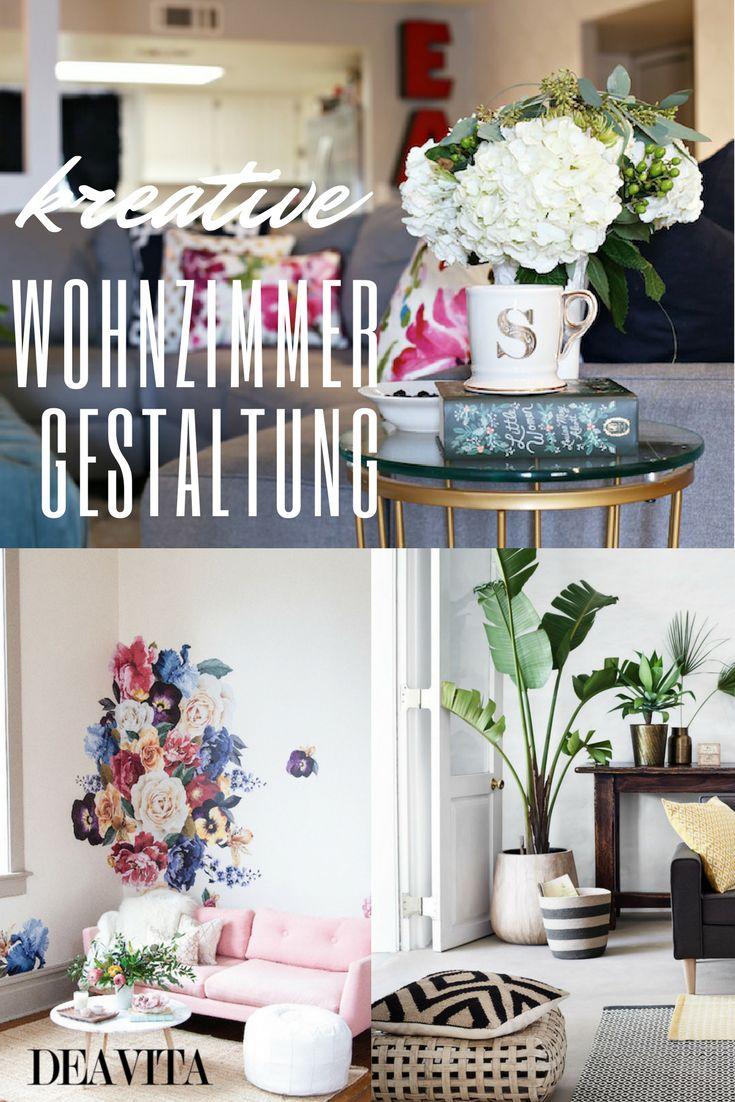 Eine Kreative Wohnzimmergestaltung Ist Selbst Mit Einem Kleinen Budget Mglich Einfachen Mitteln Und Einrichtungsideen