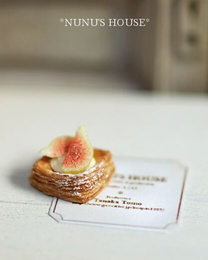 Pastry with figs, Nunu's House