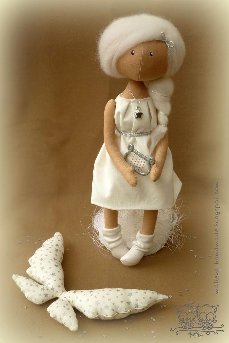 hand made by matteka: ♥Love angel♥