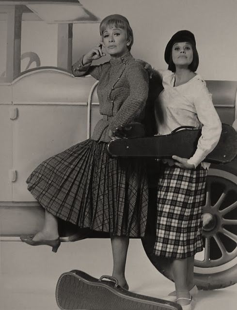 Eve Arden and Kaye Ballard publicity photo for The Mothers ...