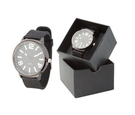 Luxusné pánske hodinky so silikónovým náramkom s bielym číselníkom. Tieto luxusné analógové hodinky pre pánov majú moderný okrúhly dizajn a remienok vyrobený zo silikónu. Dodávané v darčekovej krabičke. Potešte seba alebo svojich blízkych krásnymi hodinkami. Tieto moderné analógové hodinky Vás uchvátia svojim nádherným a elegantným vzhľadom. Hodinky sa hodia na každú príležitosť.