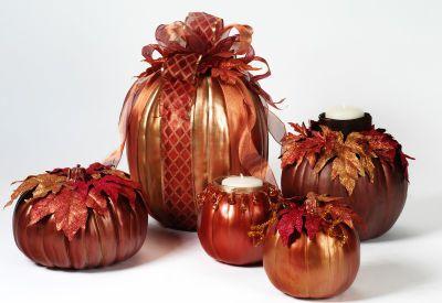 Fall Buffet Table #Pumpkins