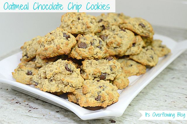 Oatmeal Chocolate Chip Cookies: Desserts, Totally Rocks, Oatmeal Chocolate Chips, Chocolates Chips Cookies, Choc Chips Cookies, Cookies Recipes, Chocolate Chip Cookies, Oatmeal Chocolates Chips, Recipes Totally