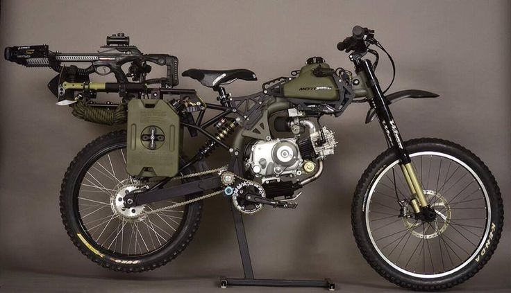 MotoPed Survival Bike – OMG I Want One! - VibeWOW.com