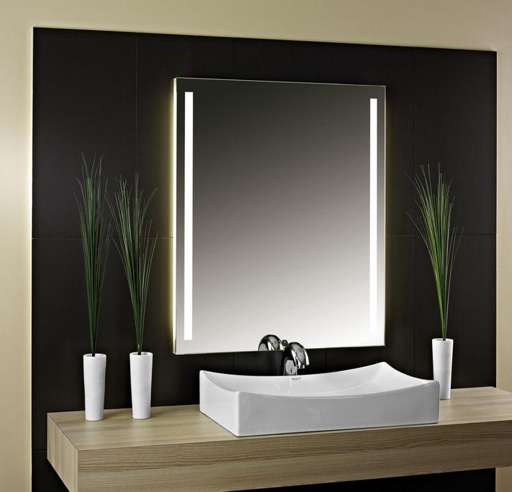 Mer enn 25 bra ideer om Badspiegel Beleuchtet på Pinterest - badezimmer spiegel beleuchtung