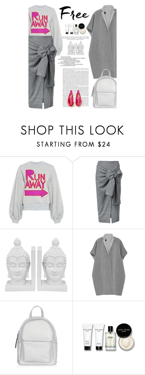 """Sweatshirt say"" by amimcqueen ❤ liked on Polyvore featuring Karen Walker, Sophie Theallet, Three Hands, TIBI, New Look, Jeffrey Campbell and Sinclair"