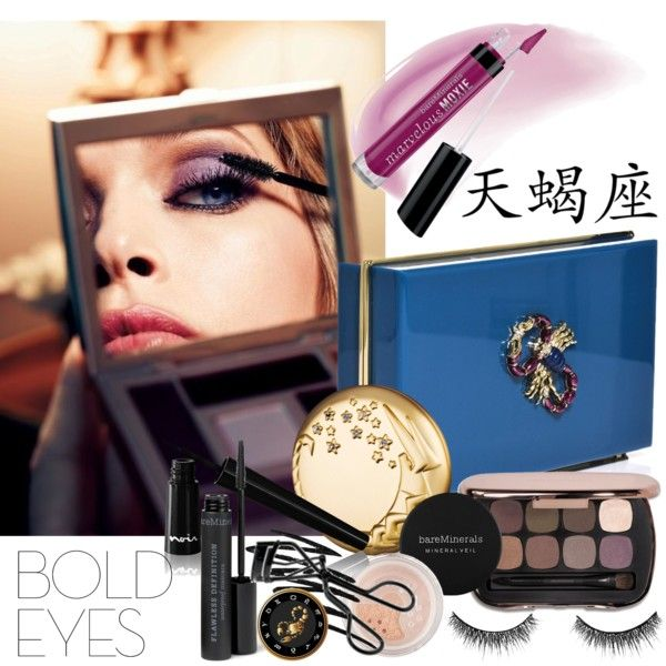 """""""Scorpio Eyes"""" by jacque-reid on Polyvore ... What's Your Horoscope Make-Up Contest"""