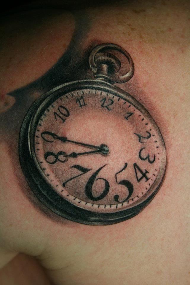 17 meilleures id es propos de tatouages horloge sur pinterest tatouage de boussole - Tatouage horloge homme ...