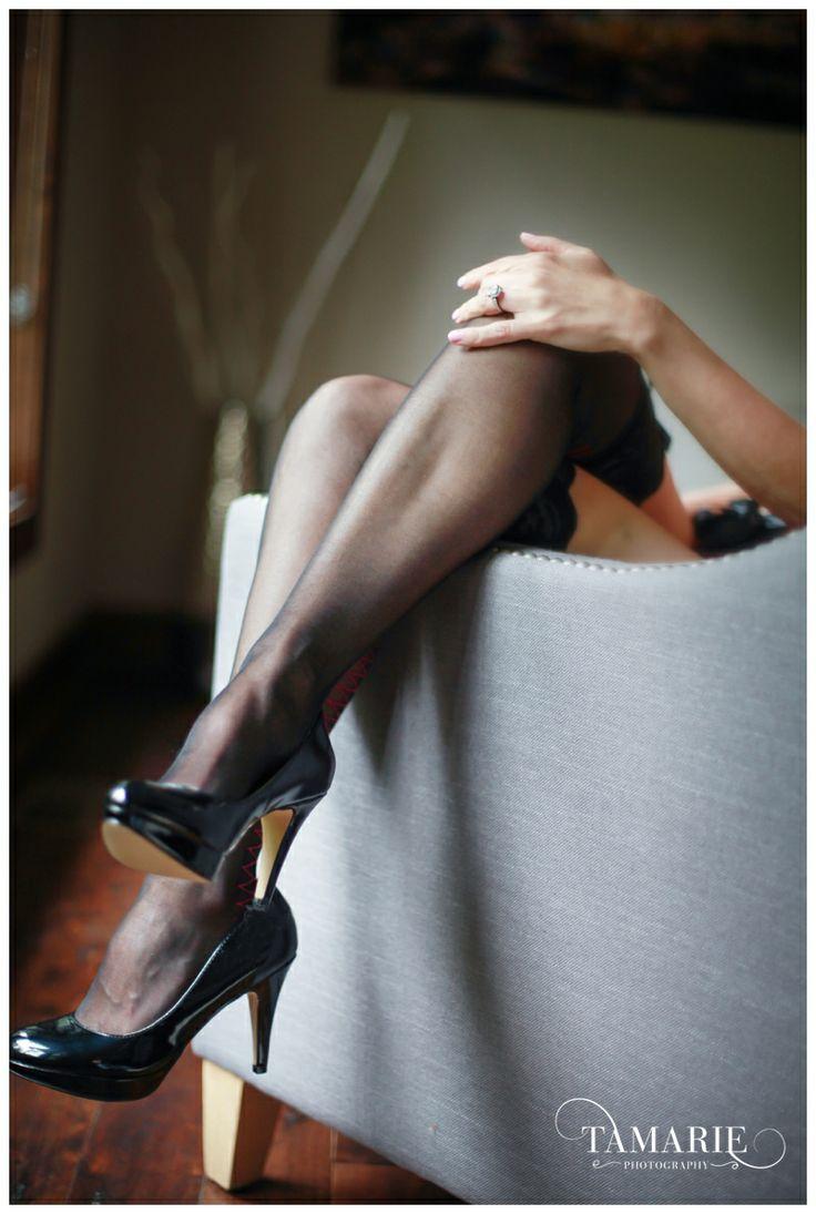 Cleveland Boudoir Photo Stockings