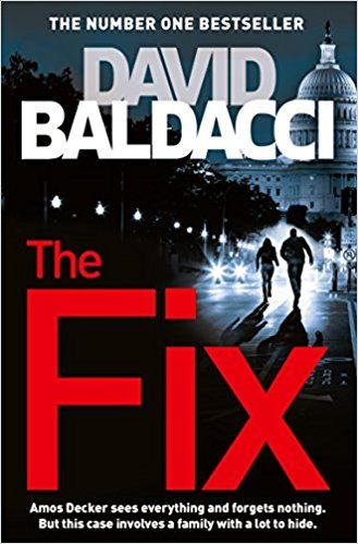 Amos Decker, David Baldacci's unique special agent, who suffered a head injury that resulted in giving him the gift of a remarkable memory takes on another case in The Fix.  Walter Dabney is a family man. A loving husband and the father of four grown daughters , he's built a life many would be proud of.  But then the unthinkable happens.  Standing outside the FBI Headquarters in Washington, D C, Dabney shoots school teacher Anne Berkshire in cold blood before turning the gun on himself.