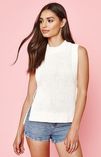 Kendall and Kylie Side Tie Sweater at PacSun.com