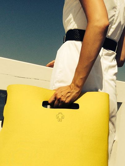 yellow yetibag - the basic one, #yellowbag #fashion #moda #handbag