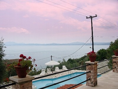 Private Pool Villa for Holidays in Corfu 4 Mins Walk to the (Private) Beach