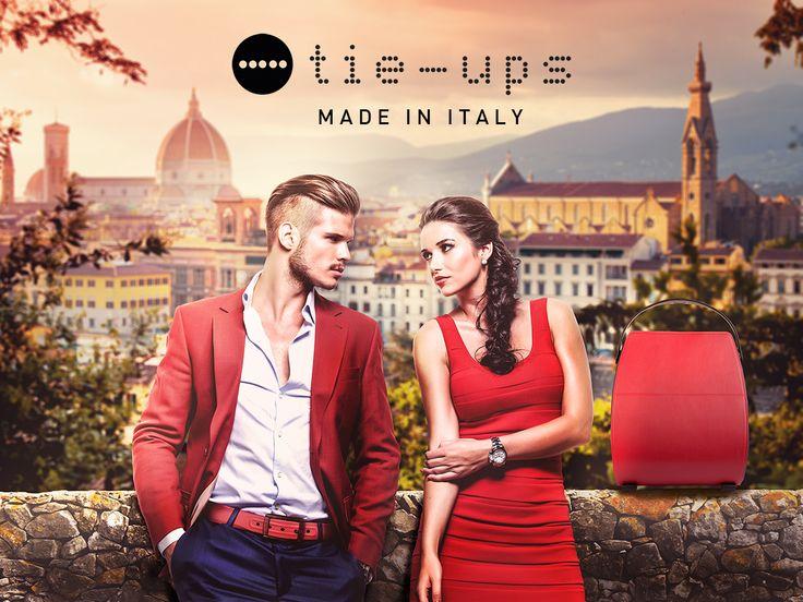 Tie-Ups, il made in Italy nel mondo. www.tie-ups.com