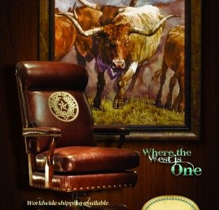 Texas State Seal On Office Chair Love Hermoso Oso