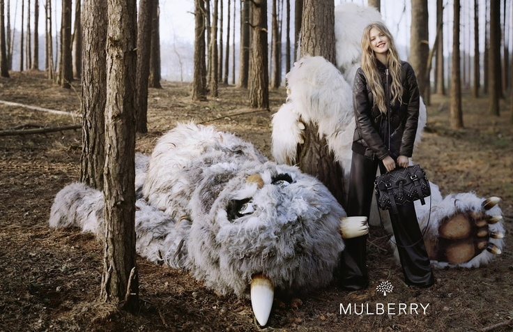 Mulberry Fall 2012 Ad Campaign