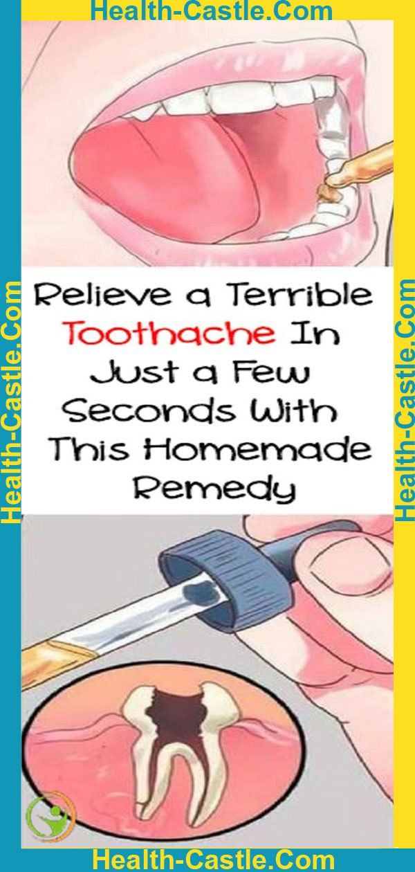 Relieve a Terrible Toothache In Just a Few Seconds With This Homemade Remedy !