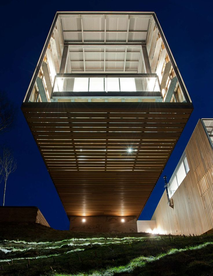 Two Hulls House. Location: Halifax, Canada; firm: MacKay-Lyons Sweetapple Architects; year: 2012
