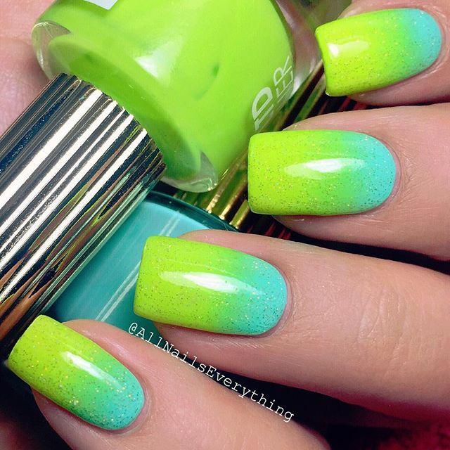 Las mejores 277 ideas de Neon Nails ideas on Pinterest | Uñas de ...